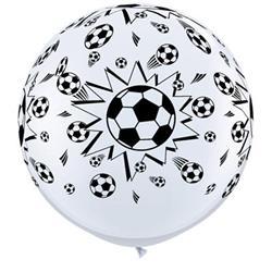 Qualatex Balloons Soccer Ball A-round 90cm