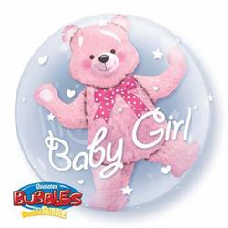 Baby Bear Pink Double Bubble 60cm
