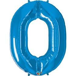 Qualatex Number 0 86cm Sapphire Blue