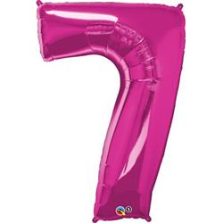 Qualatex Number 7 86cm Magenta