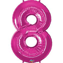 Qualatex Number 8 86cm Magenta *