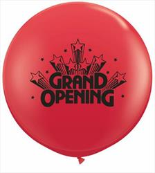 Qualatex Balloons Grand Opening Stars 90cm