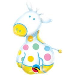 Soft Giraffe Mini Shape 14""
