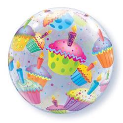 Cupcakes Bubble 55cm