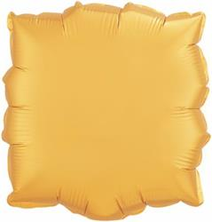 Qualatex Balloons 23cm Square Gold