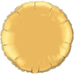 Circle Foil Gold 45cm Unpackaged