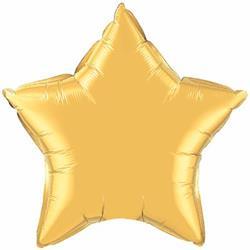 Qualatex Balloons 10cm Star Gold