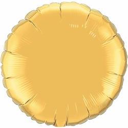 Qualatex Balloons 10cm Circle Gold