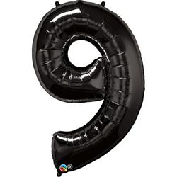Qualatex Number 9 86cm Black