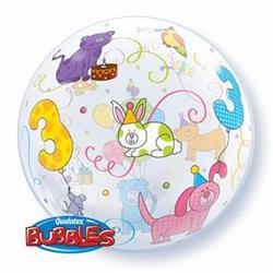 Age 3 Cuddly Pets Bubble 55cm