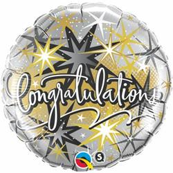 Qualatex Balloons Congratulations Elegant 45cm