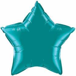 Star Foil Teal 50cm Unpackaged