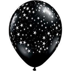 Stars Around Onyx Black 28cm 25 count