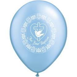 For Your Baptism Dove Pearl Azure