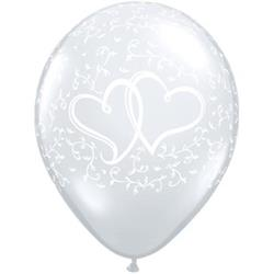 Entwined Hearts D/Clear 28cm