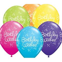 Birthday Wishes Dots Tropical Assort 25 count
