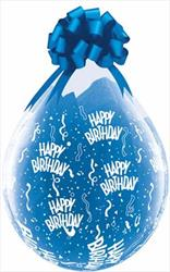 Qualatex Balloons Birthday Around  Stuffing Balloons 45cm DC