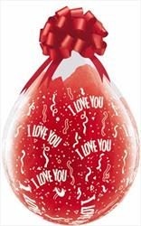 I love You Around Stuffing balloons 45cm DC
