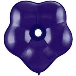 """Geo Blossom Quartz Purple 6"""" - 15cm"""