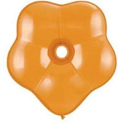 "Geo Blossom Mandarin Orange 6"" - 15cm"