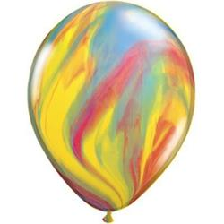 Qualatex Balloons Traditional SuperAgate 28cm.