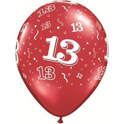 Qualatex Balloons 13 Around J/Tone Asst 28cm
