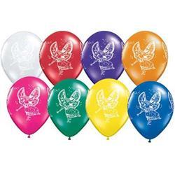 Qualatex Balloons Fairies Wrap Jewel Tone Asst 28cm