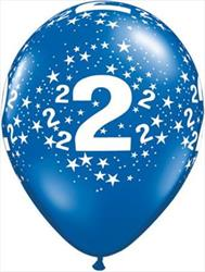 Qualatex Balloons 2 Around J/Tone Asst 28cm  25 count