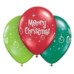 Qualatex Balloons Merry christmas Ornaments 28cm