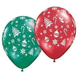 Qualatex Balloons Christmas Trimmings Around 28cm