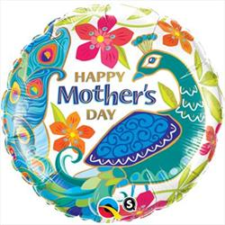 Qualatex Balloons Mothers Day Peacock 45cm