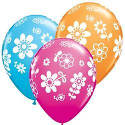 Qualatex Balloons Contempo Daisies 28cm