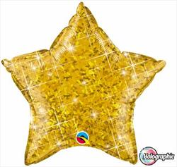 Star Holographic 50.8cm Gold