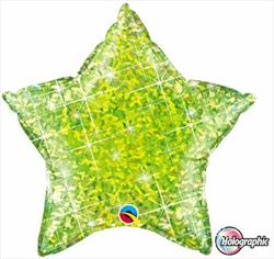 Star Holographic 50.8cm Jewel Lime
