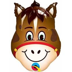 "Hilarious Horse Mini Shape 14"""