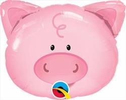 "Playful Pig Mini Shape 14"""
