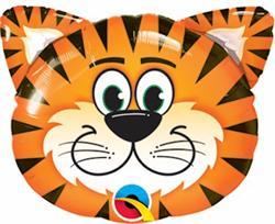 """Tickled Tiger Mini Shape 14"""""""