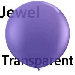 Qualatex Balloons Quartz Purple 90cm