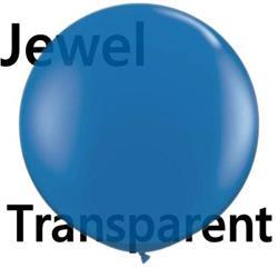 Qualatex Balloons Sapphire Blue 90cm   (pack)