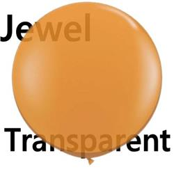 Qualatex Balloons Mandarin Orange 90cm