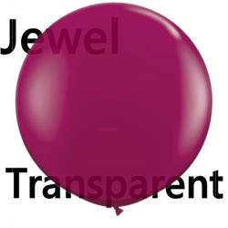 Qualatex Balloons Sparkling Burgundy  90cm  (pack)