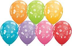 Qualatex Balloons Garden & Butterflies 28cm