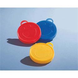 100 grm Smiley Weights Heave Asst Red yellow blue