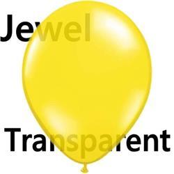 Qualatex Balloons Jewel Citrine Yellow 12cm