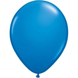 Qualatex Balloons Dark Blue 12cm