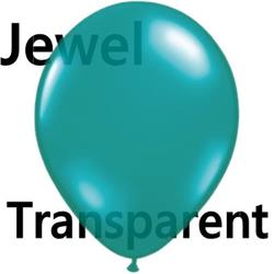 Qualatex Balloons Jewel Teal 12cm