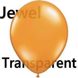 Qualatex Balloons Mandarin Orange 12cm