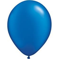 Qualatex Balloons Pearl Sapphire Blue 12cm