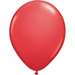Qualatex Balloons Red 12cm