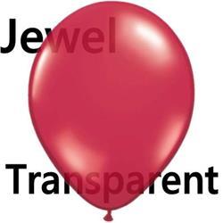 Qualatex Balloons Jewel Ruby Red 12cm